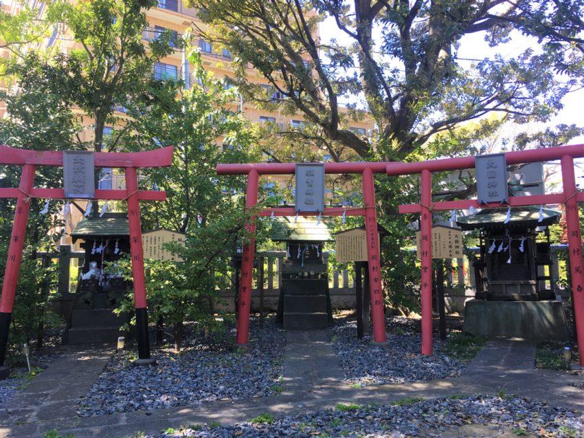 朝日氷川神社