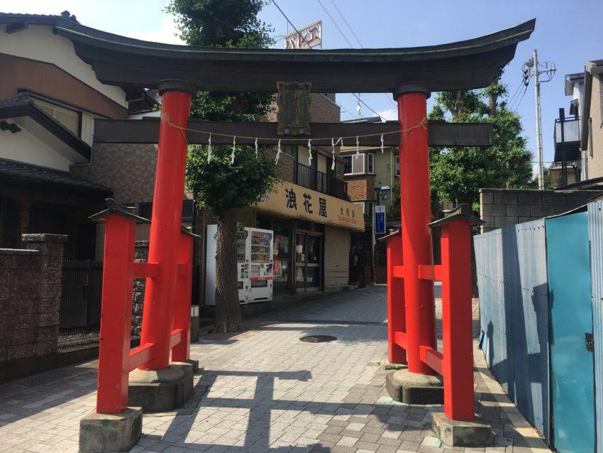 鳩ヶ谷氷川神社 鳥居