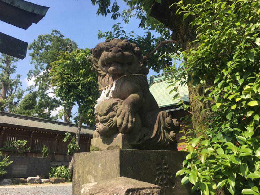鳩ヶ谷氷川神社 狛犬