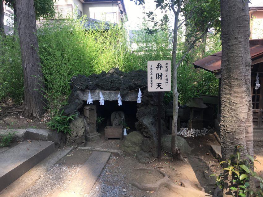 鳩ヶ谷氷川神社 弁天社